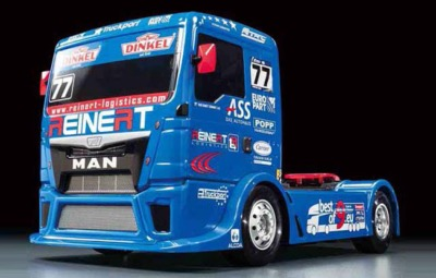 TAMIYA MAN TGS Reinert Racing TT01E verison kit