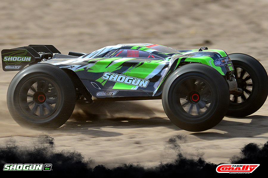 CORALLY SHOGUN XP 6S TRUGGY BRUSHLESS 1/8