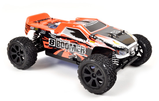PACK T2M Buggy thermique rc PIRATE BOOMER 1/10 4 roues motrices