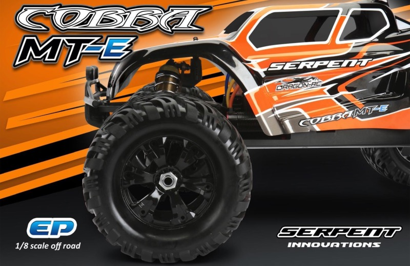 SERPENT MONSTER TRUCK 1/8 COBRA MT-E 6S