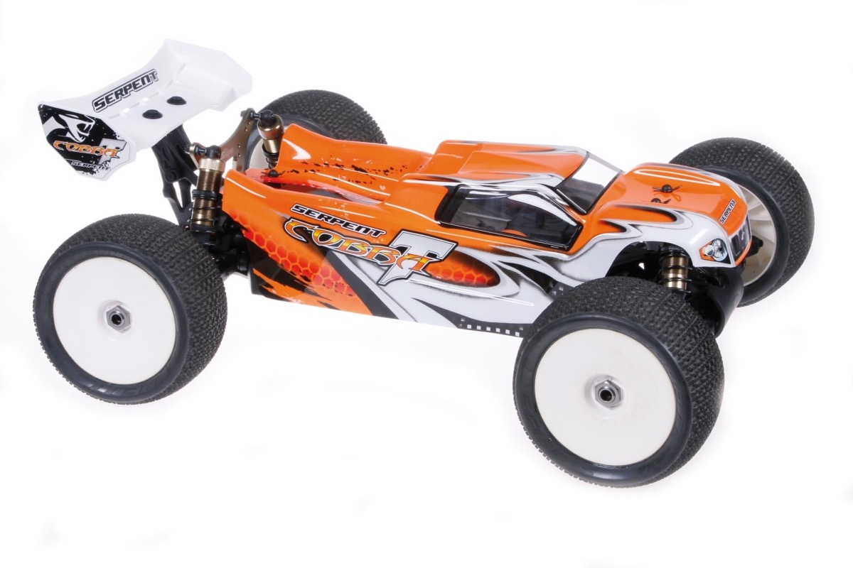PACK SERPENT COBRA TRUGGY BRUSHLESS RTR 1/8 LIPO 4S & CHARGEUR