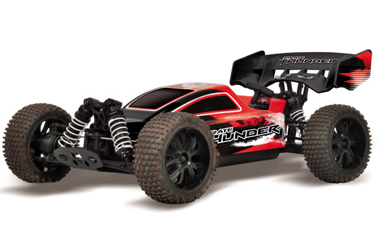 PACK T2M pirate THUNDER Buggy thermique 1/10 4 roues motrices