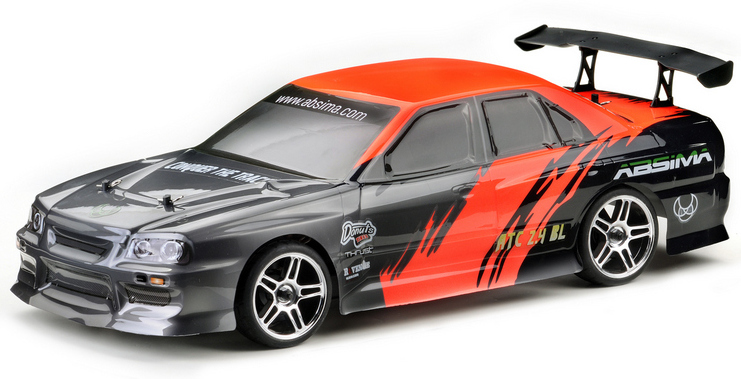 ABSIMA VOITURE PISTE ATC 2.4 BL 1/10 Brushless