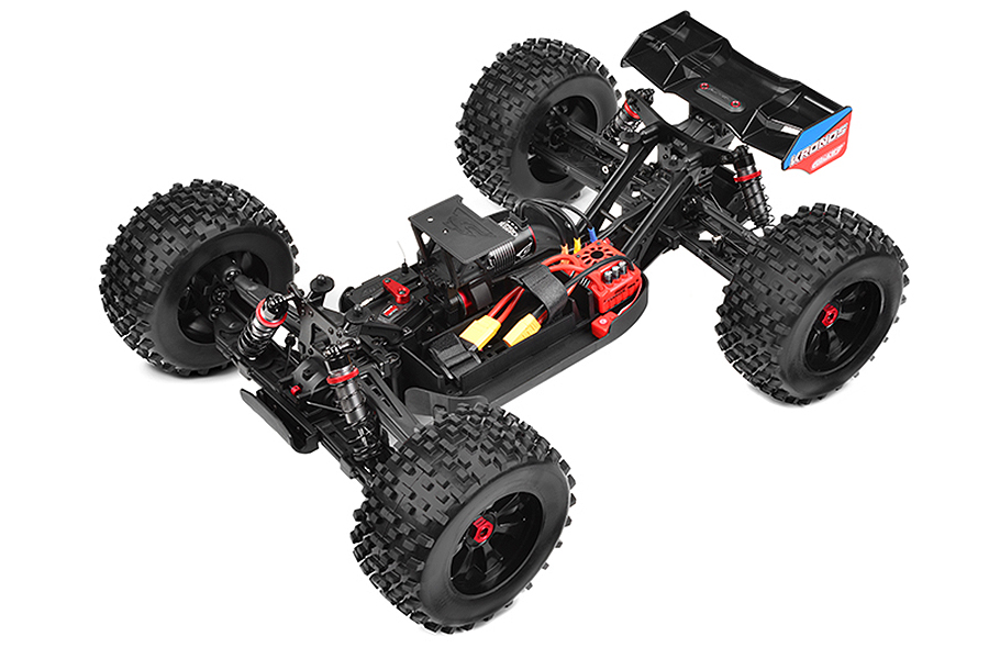 PACK ECO CORALLY 2021 KRONOS XP 6S MONSTER TRUCK BRUSHLESS 1/8 LIPO 4S CHARGEUR RAPIDE