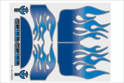 ORION Internal Graphics set Fire blue  ORI59053