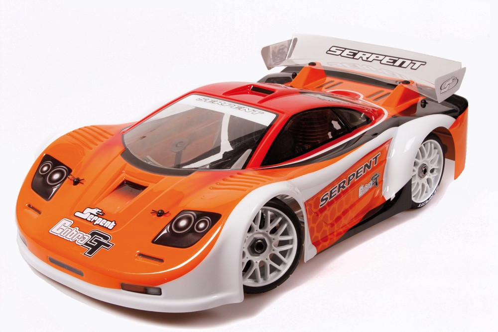 SERPENT 811 GT RALLY GAME THERMIQUE 1/8 RTR