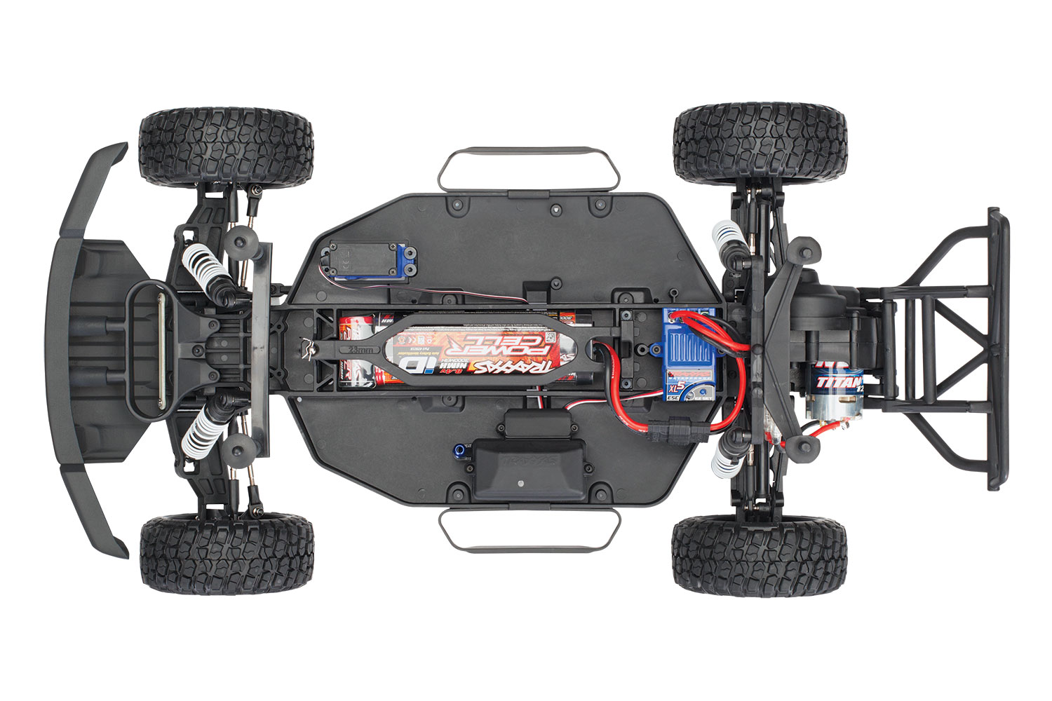 TRAXXAS FORD RAPTOR F-150 FOX- 4x2 - 1/10 BRUSHED TQ 2.4GHZ - iD BATTERIE et CHARGEUR