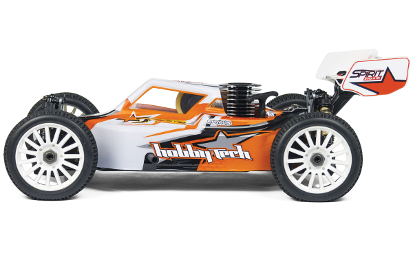PACK Hobbytech Buggy thermique Spirit Evo 1/8 4 roues motrices Moteur 3,5 cc