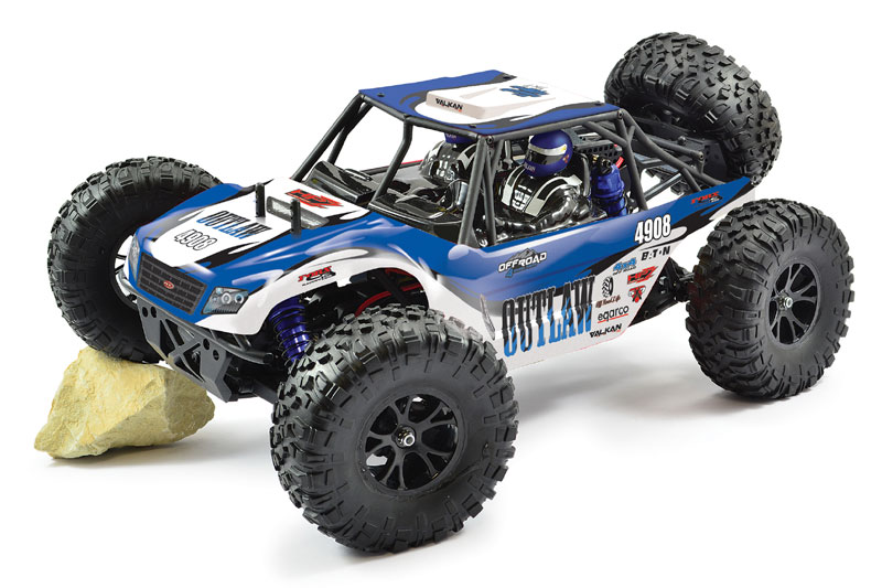 FTX OUTLAW 1/10 BRUSHLESS 4WD ULTRA-4 LIPO & CHARGEUR