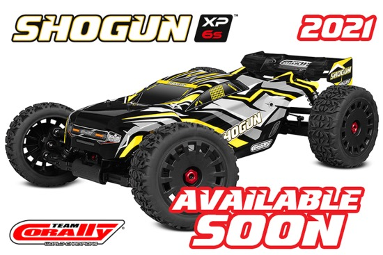 CORALLY 2021 SHOGUN XP 6S TRUGGY BRUSHLESS 1/8
