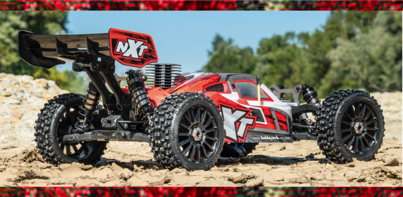 PACK HOBBYTECH Buggy 1/8 Spirit NXT GP 2.0 Thermique 100% RTR