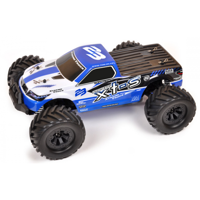 T2M Monster truck électrique brushed rc Pirate XTS 1/10 4 roues motrices