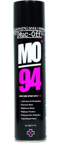 MUC OFF DÉGRIPANT LUBRIFIANT SPRAY PROTECTEUR MO94 BIODEGRADABLE