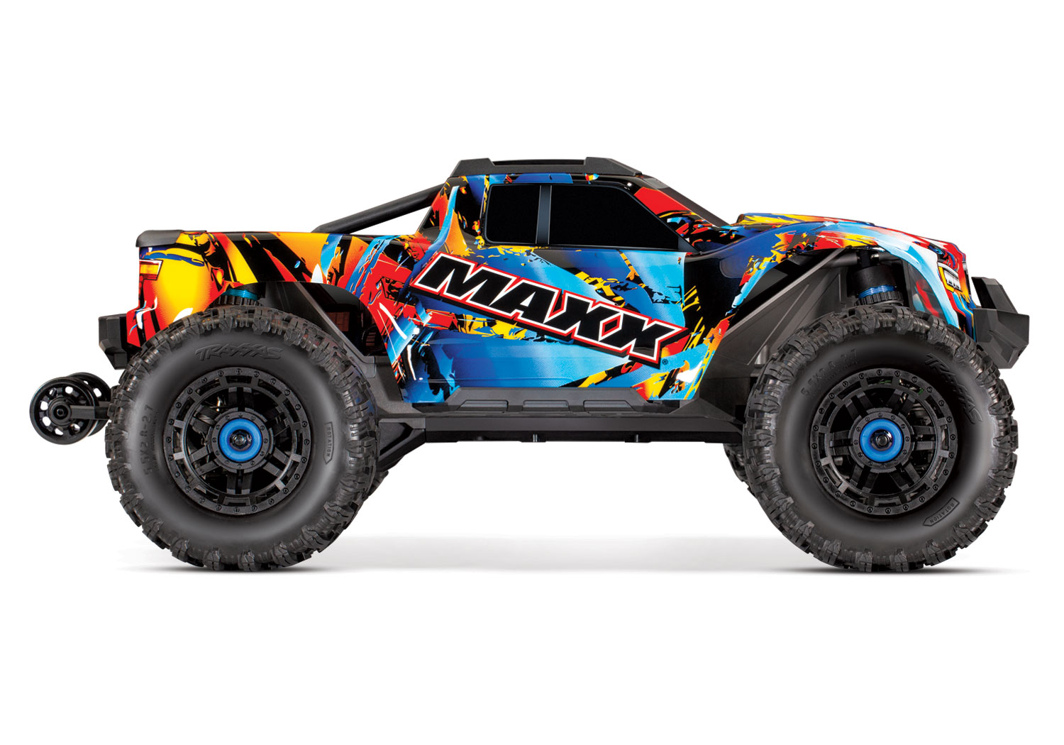 PACK TRAXXAS MAXX 4x4 ROCK N ROLL 1/10 BRUSHLESS - TSM - AVEC AQ/CHG