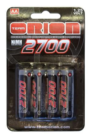 ELEMENTS R6-AA NI-MH TEAM ORION 2700 mah (4)