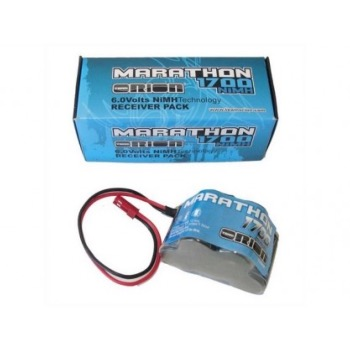 BATTERIE RX MARATHON 6V 1700 mah BEC - TEAM ORION
