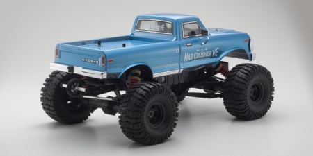PACK Kyosho Truck 1/8 MAD CRUSHER VE BRUSHLESS LIPO Chargeur & CR3P