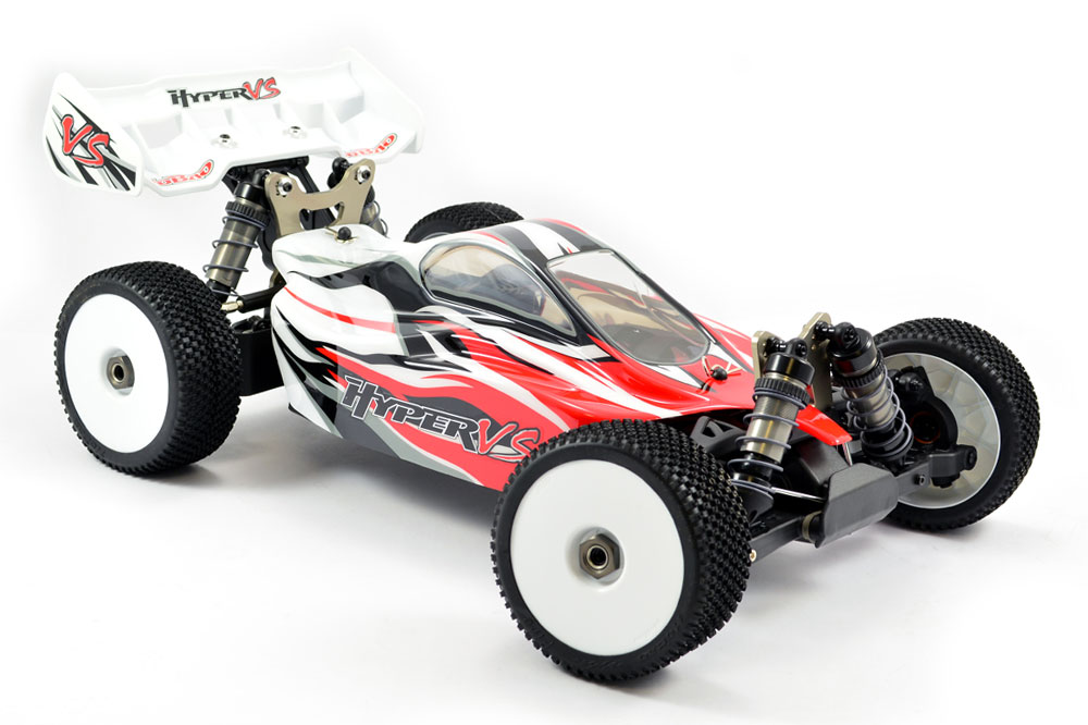 HOBAO HYPER VS 1/8 RTR BUGGY brushless 100A (Rouge)
