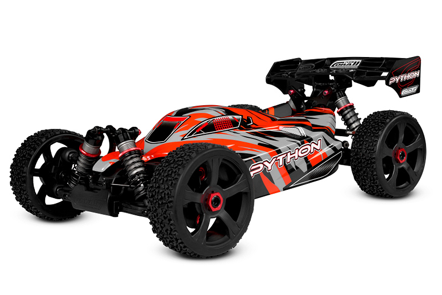 PACK CORALLY PYTHON XP BUGGY 1/8  BRUSHLESS LIPO 3S & CHARGEUR