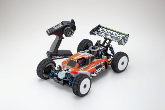 PACK ECO KYOSHO INFERNO MP9 TKI4 readyset rtr VERSION 2