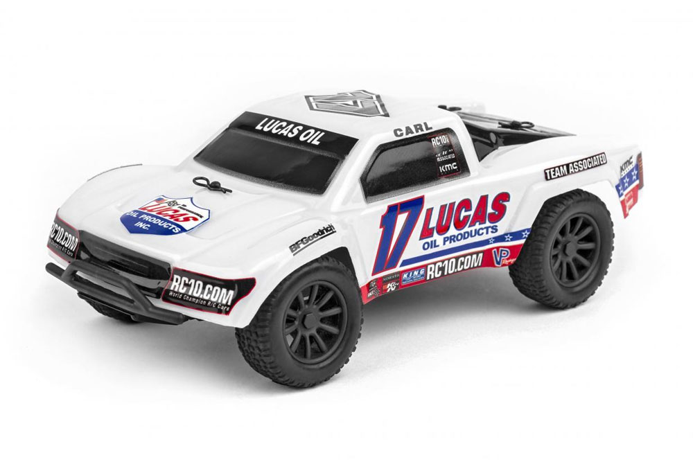 TEAM ASSOCIATED SC28 1:28 TRUCK LUCAS OIL EDITION
