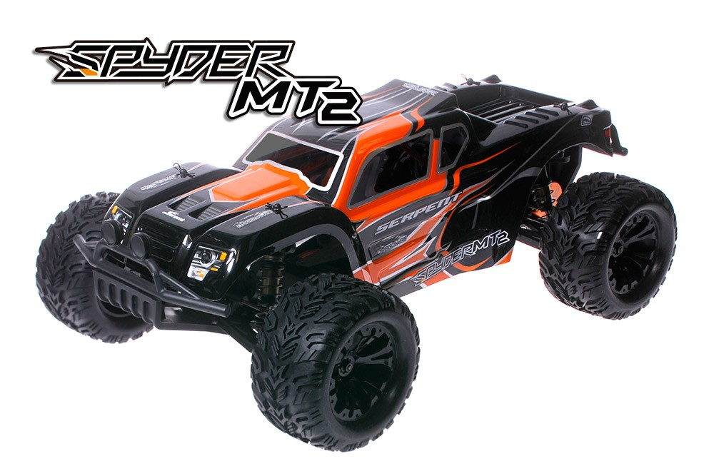 PACK SERPENT SPYDER MT2 MONSTER TRUCK 1/10 BRUSHLESS