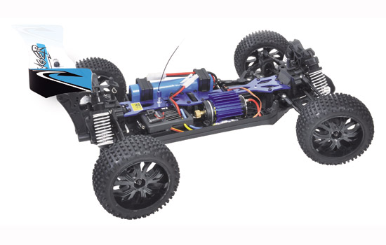 T2M Buggy électrique brushed rc PIRATE STINGER 1/10 4 roues motrices