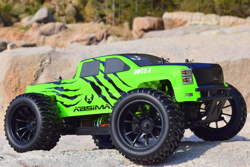 ABSIMA AMT3.4 MONSTER TRUCK 1/10  brushed