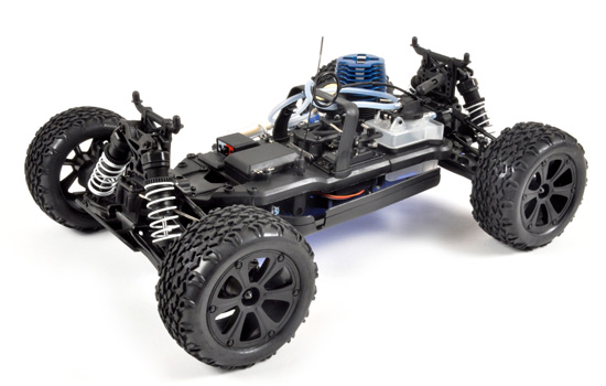 T2M Buggy thermique rc PIRATE BOOMER 1/10 4 roues motrices