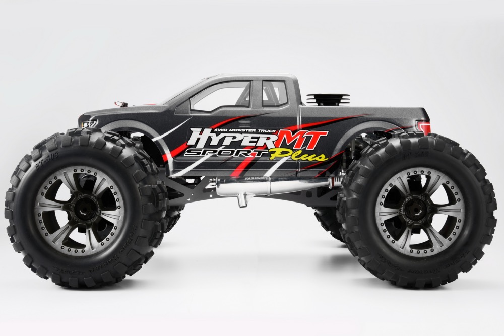 PACK HOBAO HYPER MT SPORT PLUS Monster truck RTR Hyper 30 Moteur 5,0 cc (Gris)