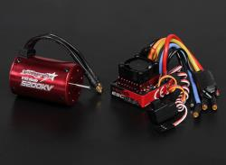 Combo variateur brushless 80A moteur brushless 5200Kv carte de programmation
