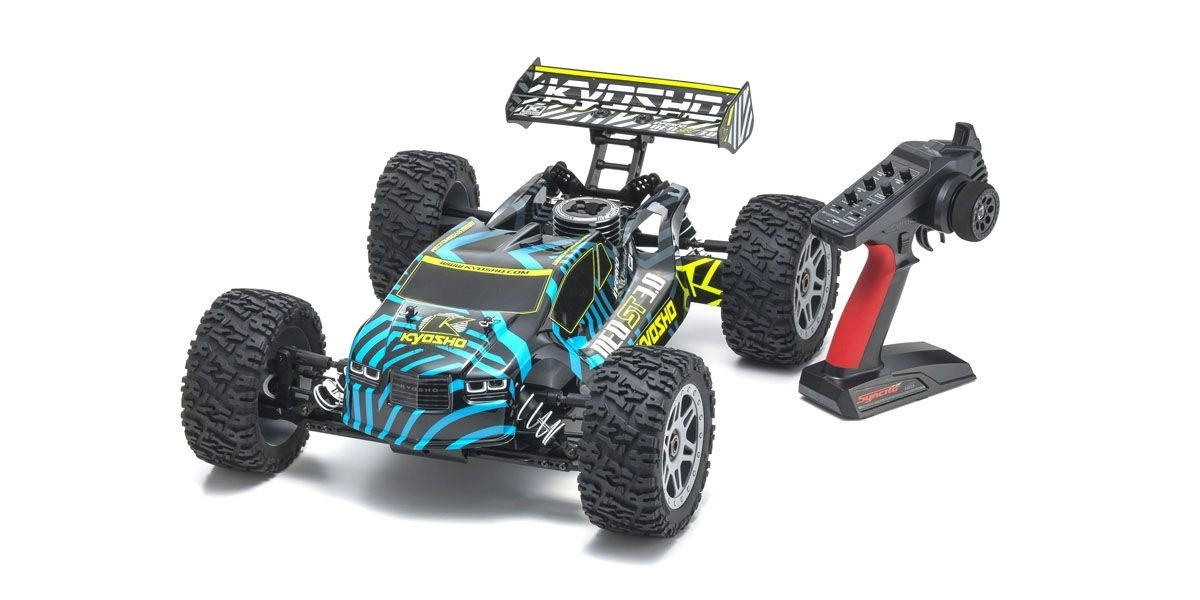 KYOSHO Truggy thermique rc INFERNO NEO ST 3.0 MOTEUR KE25SP 4,1cc