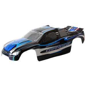 Carrosserie FTX Carnage brushless 1/10 peinte + planche stickers