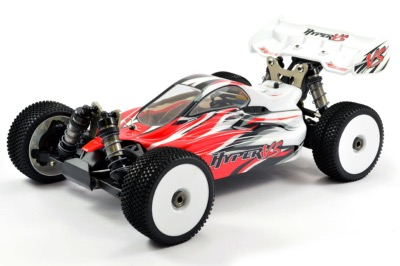 PACK HOBAO HYPER VS 1/8 RTR BUGGY bruhsless 4S Radio CR3P (Rouge)