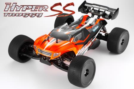 PACK HOBAO HYPER SST TRUGGY 1/8 RTR MACH 28 (4,6 cc)