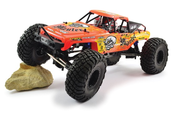 FTX MAULER crawler 4 roues motrices RTR (ROUGE)