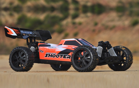 T2M Buggy électrique brushless rc Pirate Shooter BLEU 1/10 4 roues motrices