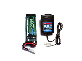 Pack CHARGEUR IQ801- Batterie 7,2V 3300mah - ORION