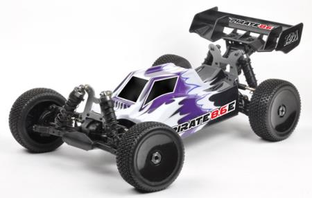 Pack T2M Buggy Pirate 8.6 E 4wd Brushless 4S Radio CR3P