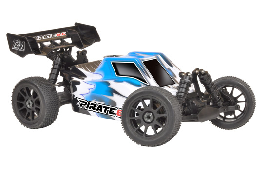 PACK T2M Pirate 8.6 Buggy thermique rc 1/8 4 roues motrices