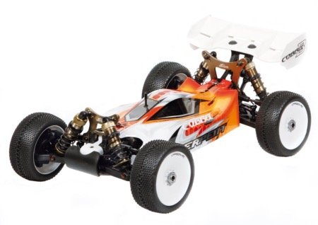 PACK SERPENT COBRA 1/8 RTR BUGGY bruhsless LIPO & Radio CR3P