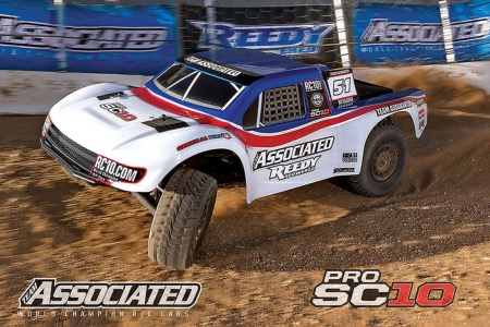 TEAM ASSOCIATED ProSC10 AE BRUSHLESS RTR Batterie Nimh