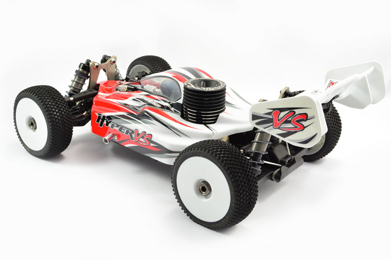 HOBAO HYPER VS 1/8 RTR BUGGY Moteur HYPER 30 TURBO (5.00 cc) ROUGE