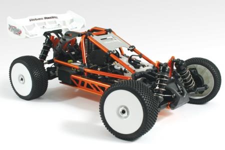 PACK HOBAO HYPER Concept cage 1/8 RTR BUGGY Moteur MACH 28 (4,6cc)