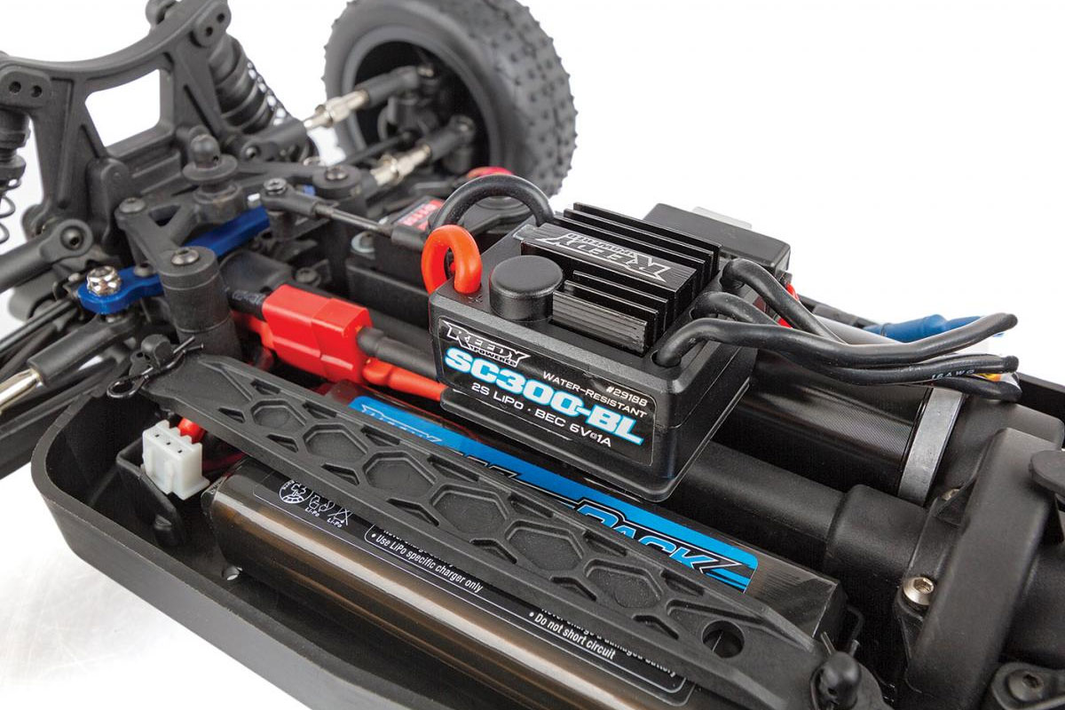PACK ECO TEAM ASSOCIATED REFLEX 14B BRUSHLESS BUGGY LIPO 2S CHARGEUR