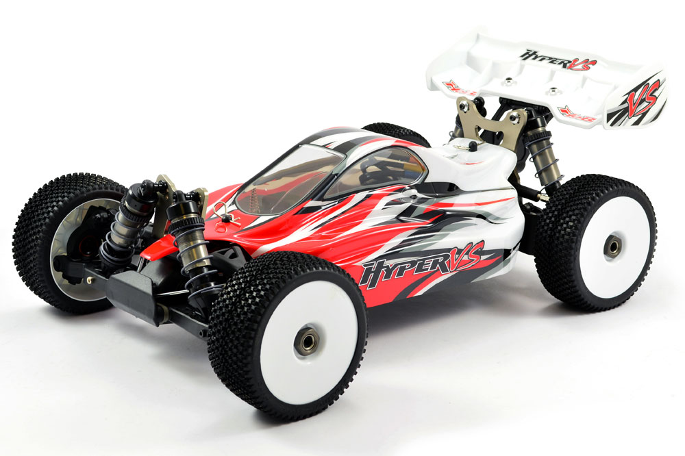 PACK HOBAO HYPER VS 1/8 RTR BUGGY bruhsless 100A LIPO 4S 100% RTR (Rouge)