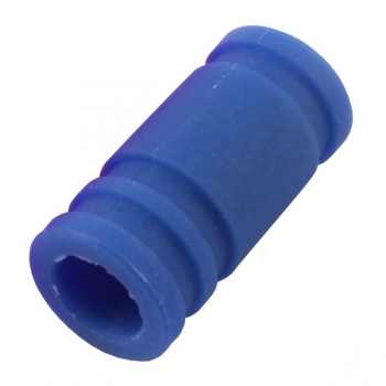 FASTRAX RACCORD SILICONE ÉCHAPPEMENT 1/8 bleu